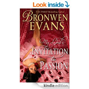 Invitation To Passion by Bronwen Evans