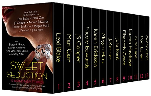Sweet Seduction Boxed Set (Thirteen NEW Erotic Romances by Bestselling Authors to Benefit Diabetes Research plus BONUS book!)