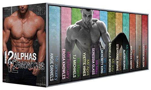 12 Alphas 12 Months: Contemporary Sensual Romance Calendar Men