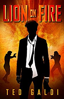 Free: Lion on Fire