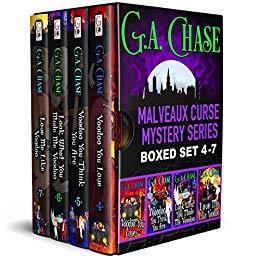 Free: The Malveaux Curse Mysteries, Books 4-7