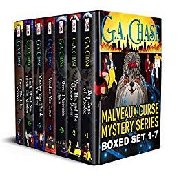 Free: The Malveaux Curse Mysteries Full Series Bundle (Books 1-7)