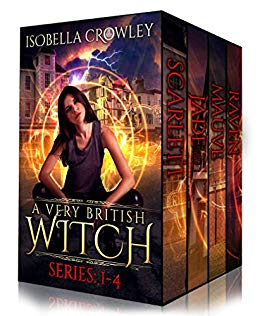 A Very British Witch Boxed Set (Books 1-4)