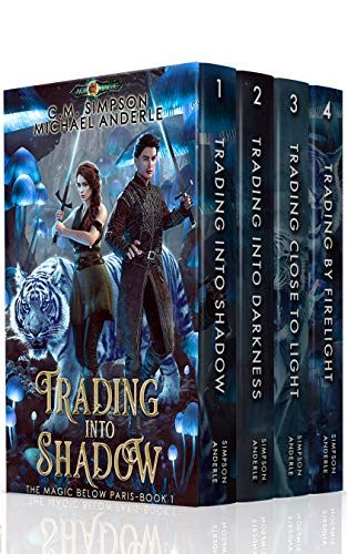 Magic Below Paris Boxed Set (Books 1 – 4)