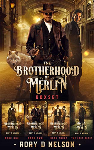 Free: The Brotherhood of Merlin Boxed Set